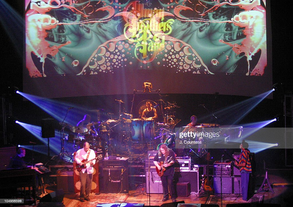 The Allman Brothers Band during The Allman Brothers Band Live at the Beacon Theater, New York City at Beacon Theater in New York City, New York, United States.