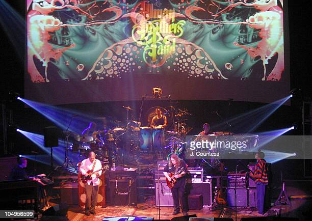 The Allman Brothers Band during The Allman Brothers Band Live at the Beacon Theater New York City at Beacon Theater in New York City New York United...