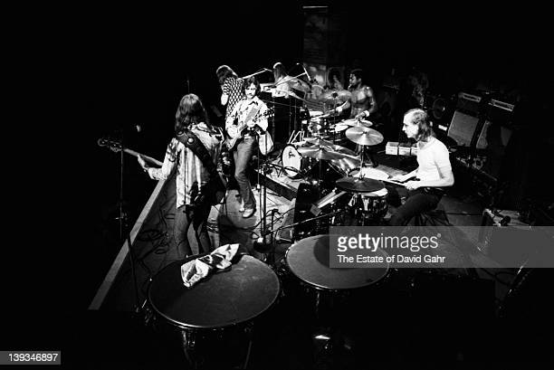 The Allman Brothers perform live at The Gaelic Park Sports Centre in The Bronx on August 17 1972 in New York City New York