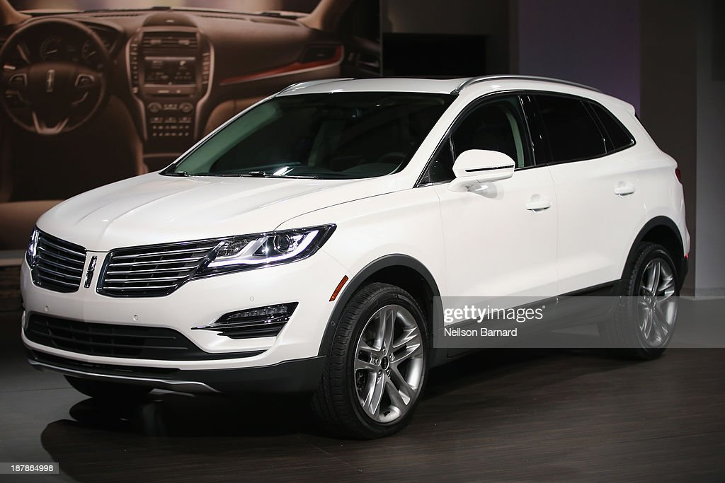 The all-new 2015 Lincoln MKC, Small Premium Utrility Vehicle, on November 13, 2013 in New York City.