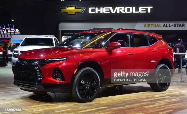 The all-new Blazer SUV from Chevrolet on display at the 2019 Los Angeles Auto Show in Los Angeles, California on November 20, 2019.