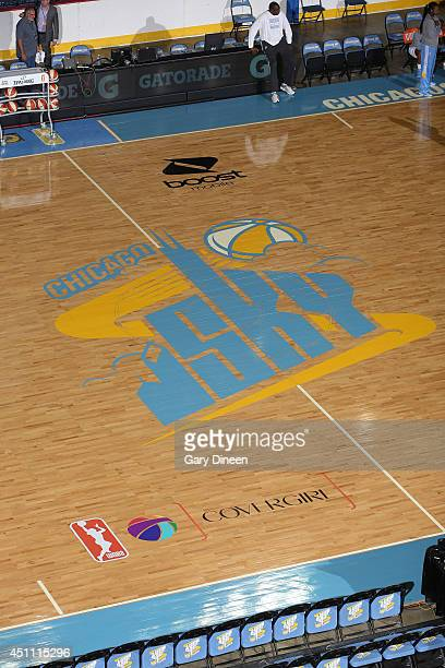 The Allstate Arena prior to the game between the Tulsa Shock and Chicago Sky on June 22 2014 in Rosemont Illinois NOTE TO USER User expressly...