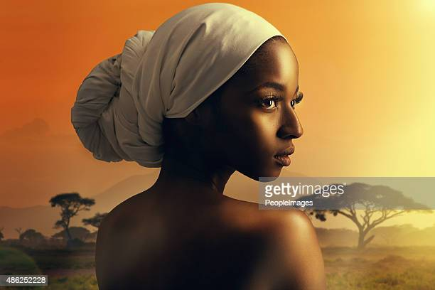 the allure of africa - headdress stock pictures, royalty-free photos & images
