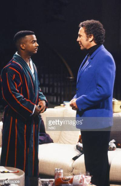 AIR The Alma Matter Episode 18 Pictured Alfonso Ribeiro as Carlton Banks Tom Jones as himself Photo by Joseph Del Valle/NBCU Photo Bank