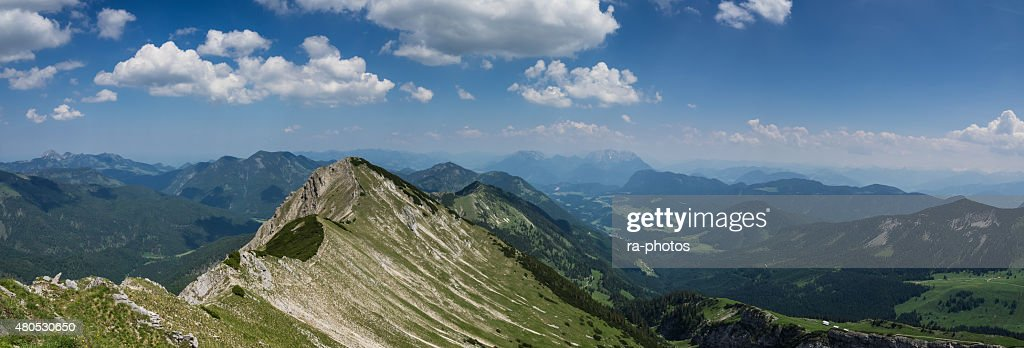 The Alps - panorama : Stock Photo