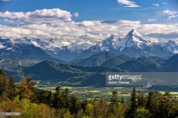 the alps, salzburg, austria, europe - achim thomae stock-fotos und bilder