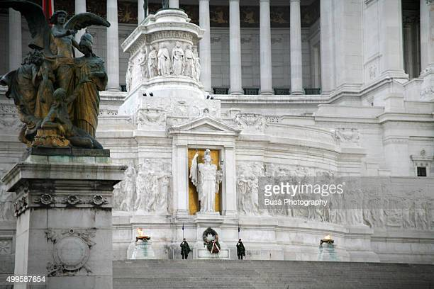 The 'Altar of the Fatherland' (in Italian: Altare della Patria), monument to Vittorio Emanuele II, in Rome, Italy