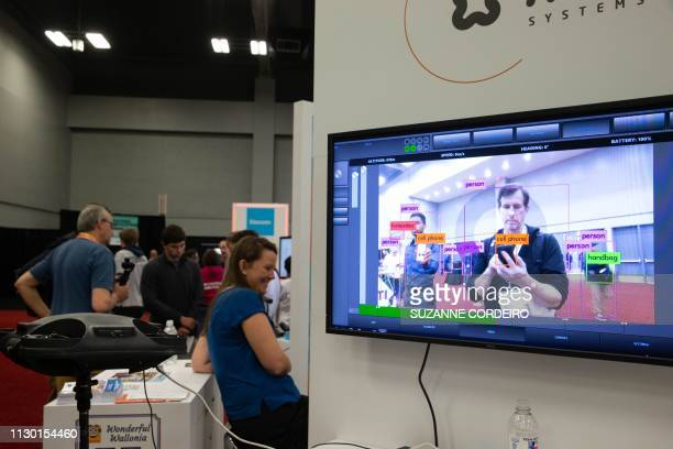 The ALX system on the floor of the SXSW Trade Show at the Austin Convention Center on March 12 2019 in Austin Texas This system artificial...