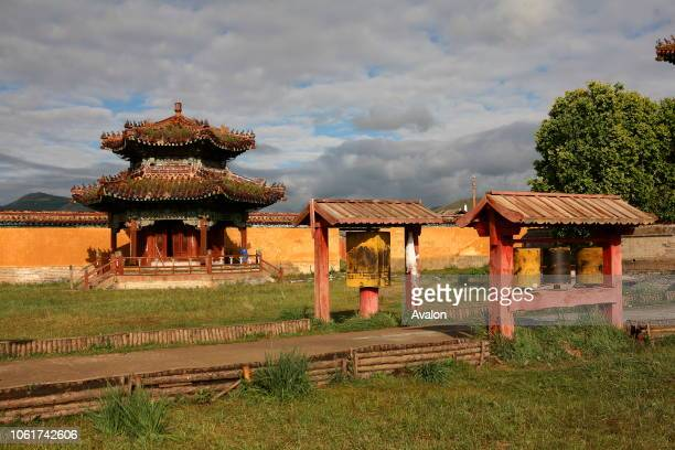 The Amarbayasgalant monastery in the northern Mongolia, Selenge province.