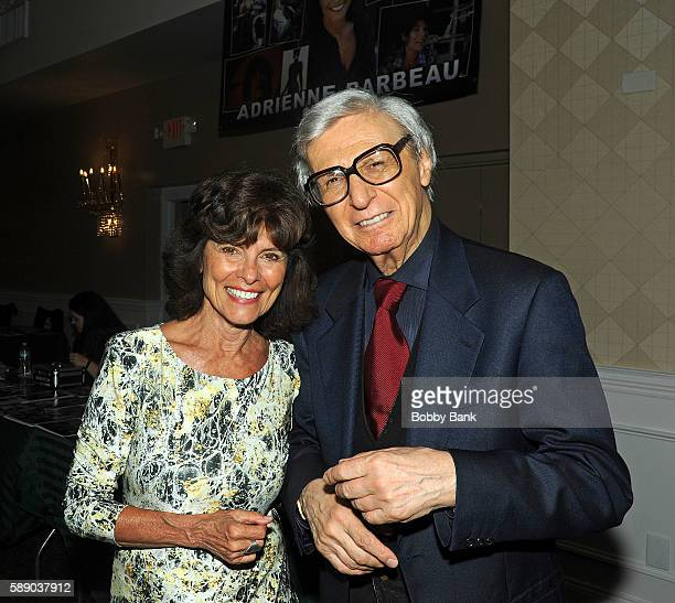 The Amazing Kreskin and Adrienne Barbeau attend the 2016 Monster Mania Con at NJ Crowne Plaza Hotel on August 12 2016 in Cherry Hill New Jersey