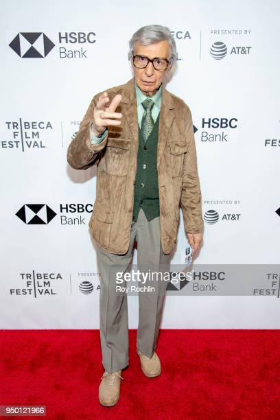The Amazing Kreskin attends Into The Okavango screening during Tribeca Film Festival at Spring Studios on April 22 2018 in New York City