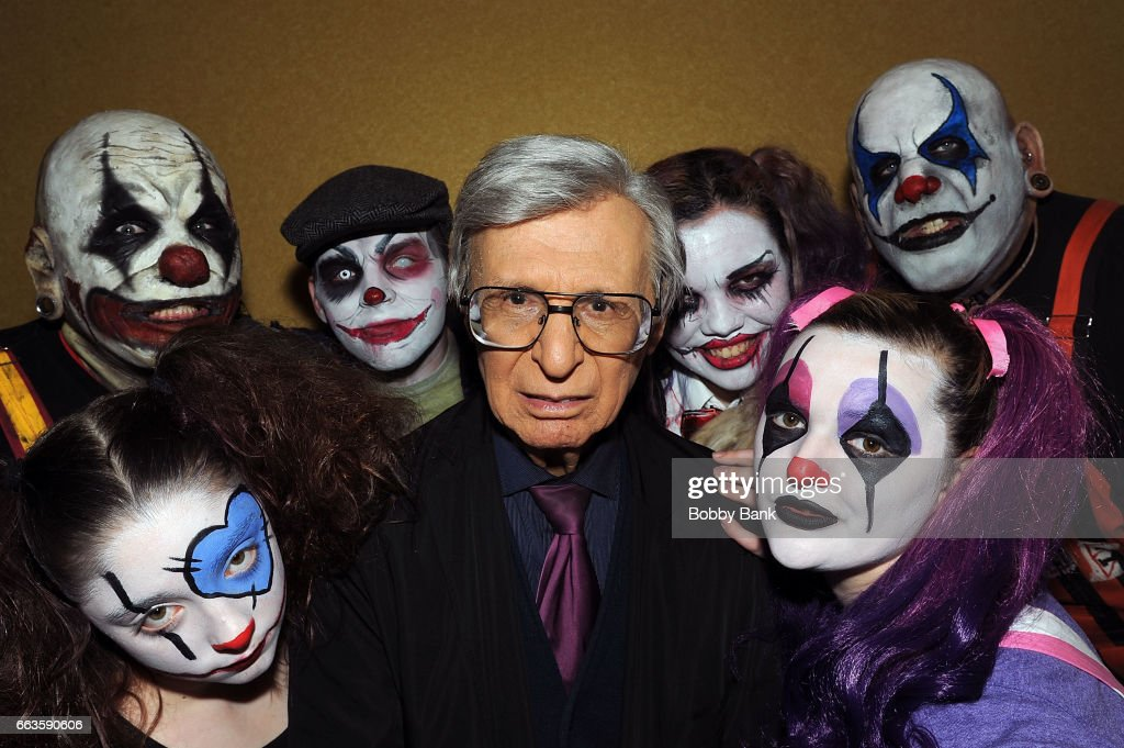 The Amazing Kreskin attends the 2017 New Jersey Horror Con at Crowne Plaza Edison on April 1, 2017 in Edison, New Jersey.