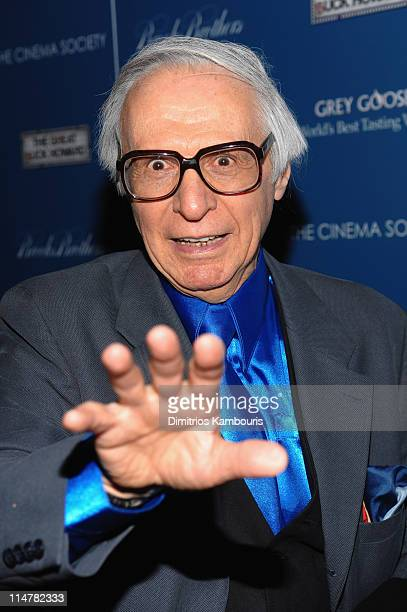 The Amazing Kreskin attends The Cinema Society and Brooks Brothers screening of The Great Buck Howard at the Tribeca Grand Screening Room on March 10...