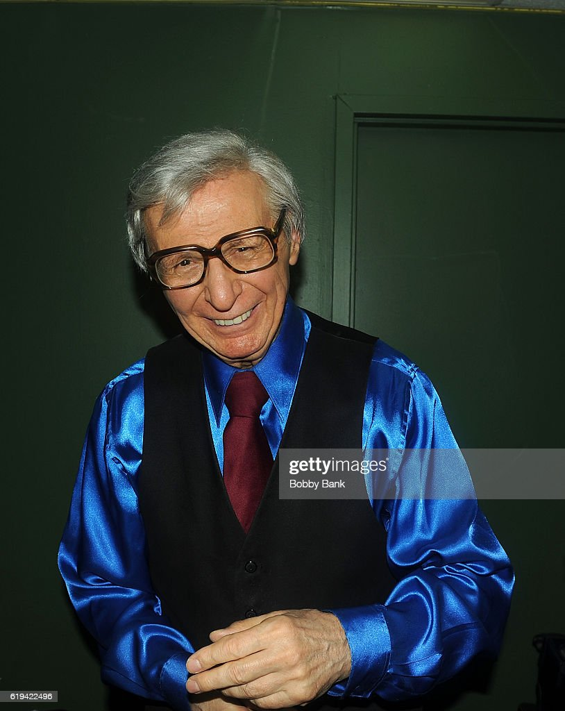 The Amazing Kreskin backstage at The Stress Factory Comedy Club on October 30, 2016 in New Brunswick, New Jersey.