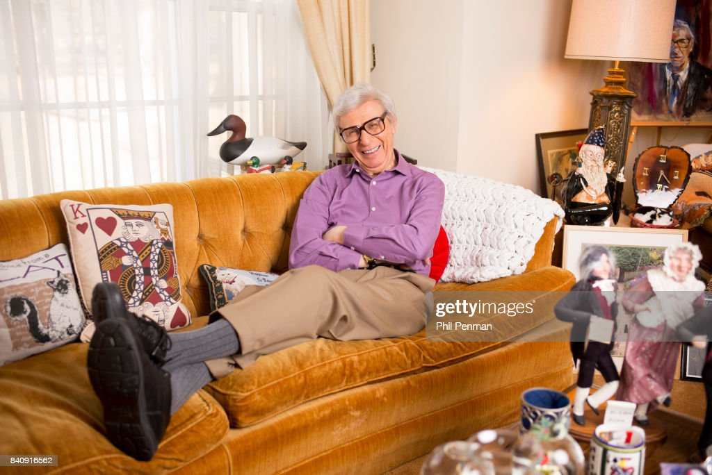 The Amazing Kreskin, George Kreskin is photographed for Closer Weekly Magazine on March 9, 2016 at home in New Jersey.