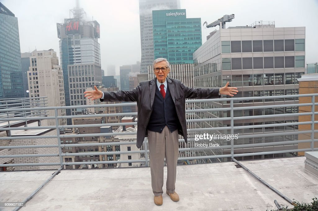 The Amazing Kreskin takes nn New York City to prepare for his upcoming Off-Broadway show at Theatre Row's Lion Theatre on March 29, 2018 in New York City.