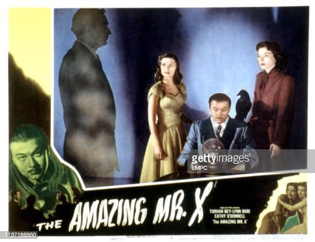 The Amazing Mr X lobbycardThe Amazing Mr X Donald Curtis Cathy O'Donnell Lynn Bari 1948
