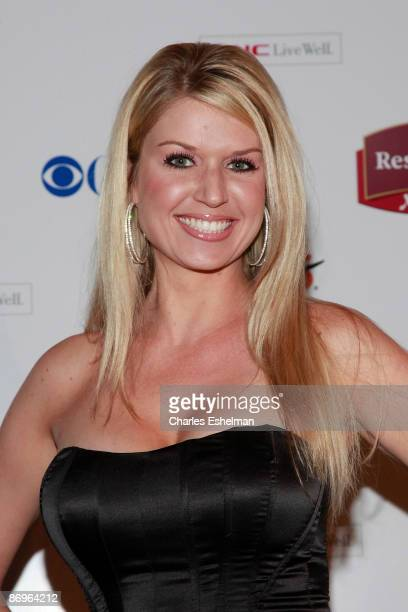 The Amazing Race 14 contestant Jennifer Hopka attends the finale party at the The Marriott Residence Inn on May 10 2009 in New York City