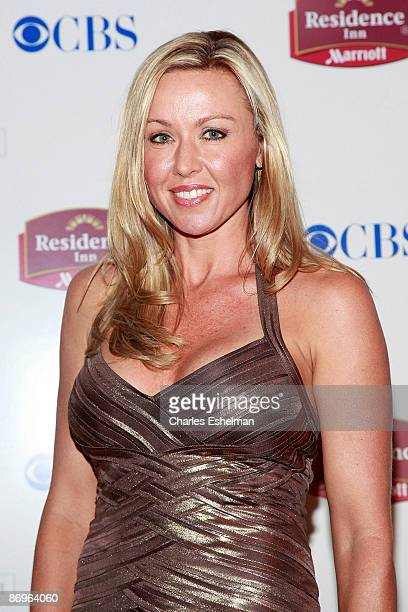 The Amazing Race 14 contestant Jodi Wincheski attends the finale party at the The Marriott Residence Inn on May 10 2009 in New York City