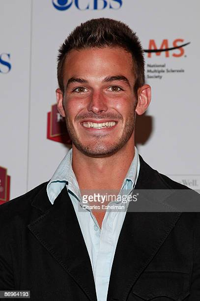 The Amazing Race 14 contestant Kris Klicka attends the finale party at the The Marriott Residence Inn on May 10 2009 in New York City