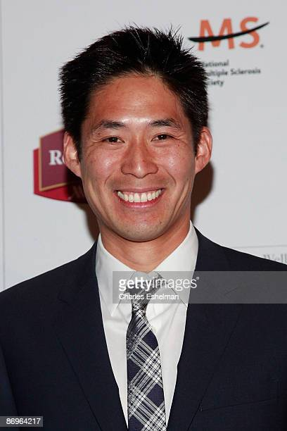 The Amazing Race 14 contestant Victor Jih attends the finale party at the The Marriott Residence Inn on May 10 2009 in New York City