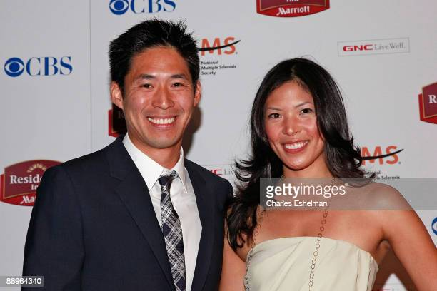 The Amazing Race 14 contestants Victor Jih and Tammy Jah attend the finale party at the The Marriott Residence Inn on May 10 2009 in New York City