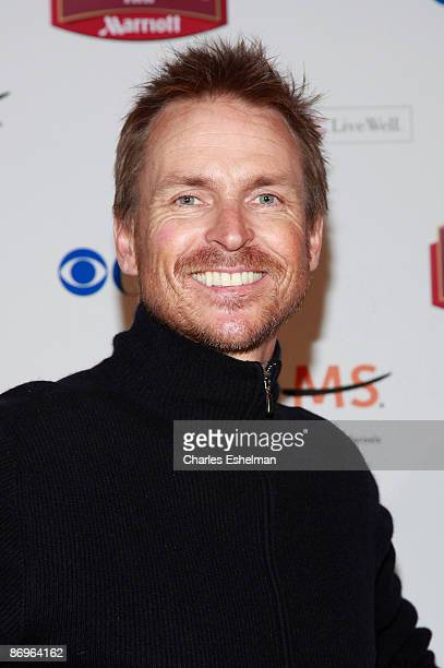The Amazing Race 14 host Phil Keoghan attends the finale party at the The Marriott Residence Inn on May 10 2009 in New York City