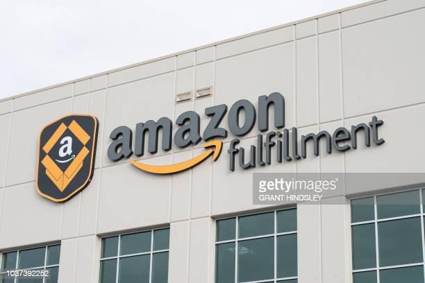 The Amazon Fulfillment Center is seen September 21 2018 in Kent Washington