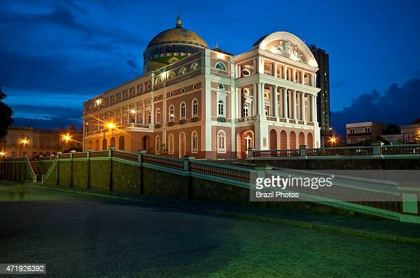 The Amazon Theatre an opera house located in the heart of Manaus inside the Amazon Rainforest in Brazil