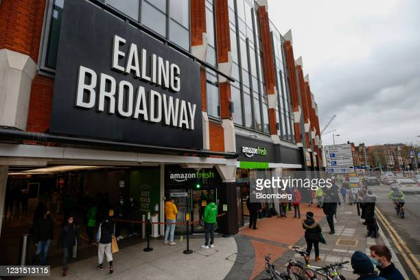 The Amazon.com Inc. Amazon Fresh cashierless convenience store in the Ealing area of London, U.K., on Thursday, March 4, 2021. The store, like its...