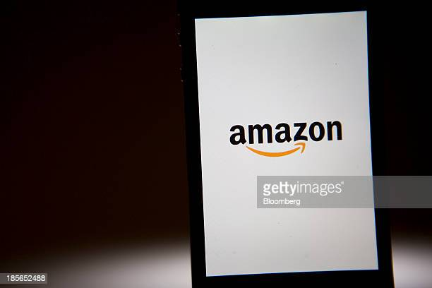The Amazoncom Inc logo is displayed on an Apple Inc iPhone in Washington DC US on Wednesday Oct 23 2013 Amazoncom Inc is scheduled to release...