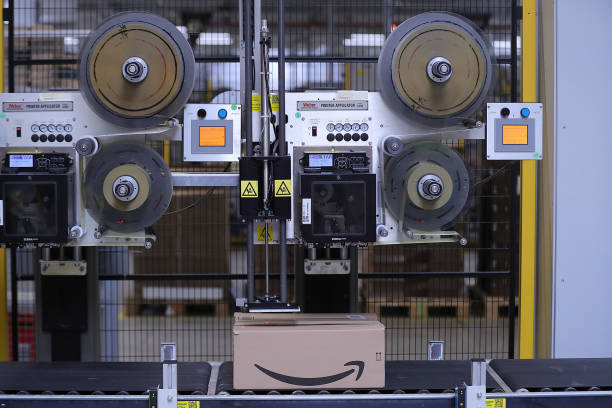 DEU: Inside An Amazon Inc. Fulfilment Center On Prime Day