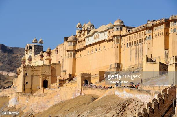 The Amber Fort in Jaipur was made by Raja Man Singh I, the capital of Rajasthan, aka the 'Pink City'. The fort with its large ramparts, series of...