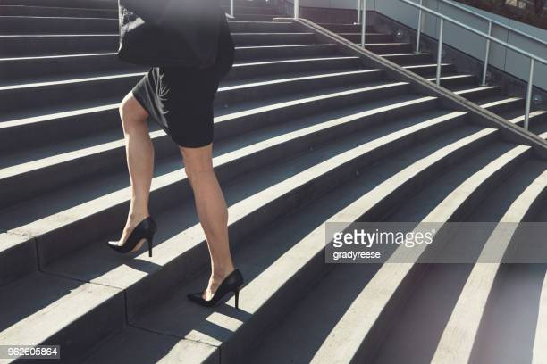 the ambitious never stop climbing - high heels stock pictures, royalty-free photos & images