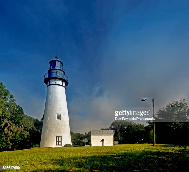 The Amelia Island Light Lighthouse in Florida- Square