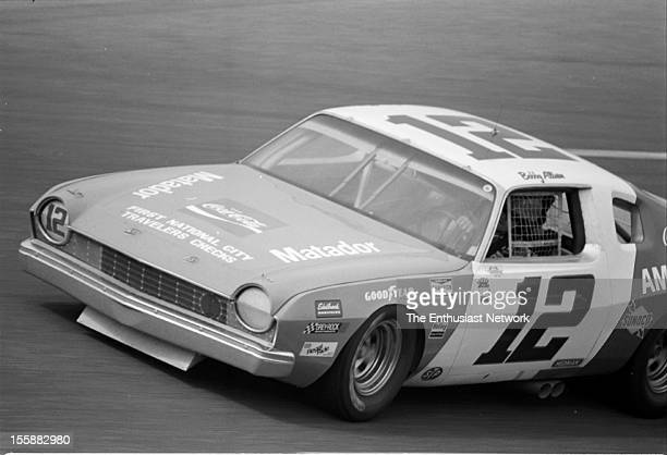 The American 500 Rockingham Speedway North Carolina Race 29 in the Winston Cup series Bobby Allison in the AMC Matador Richard Petty had pole...