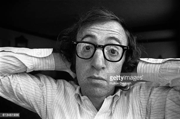 The American actor, comedian and screen writer Woody Allen , 1971.