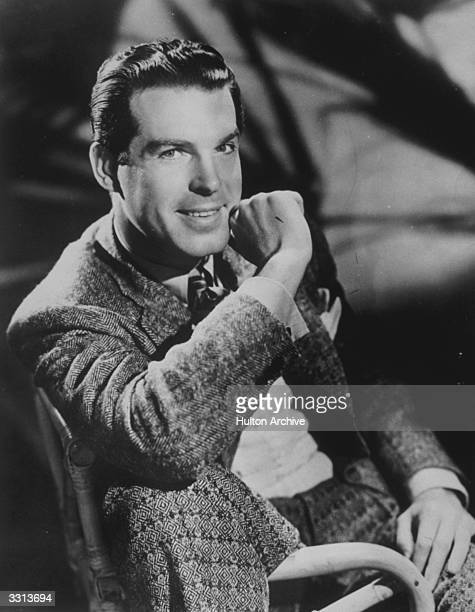 The American actor Fred MacMurray