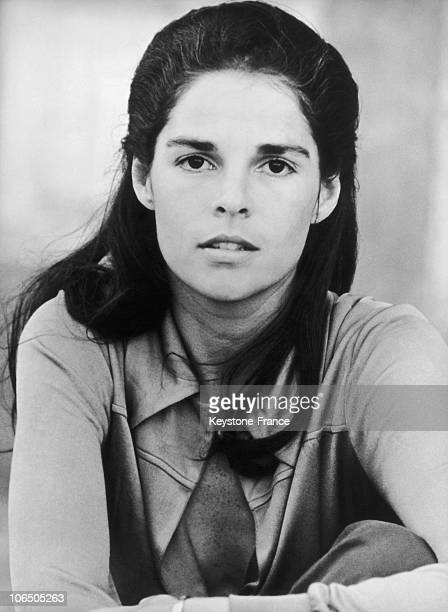 The American Actress Ali Mac Graw In 1970'S In Usa.