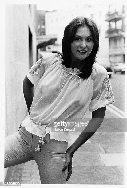 The American actress and author Linda Lovelace 1974