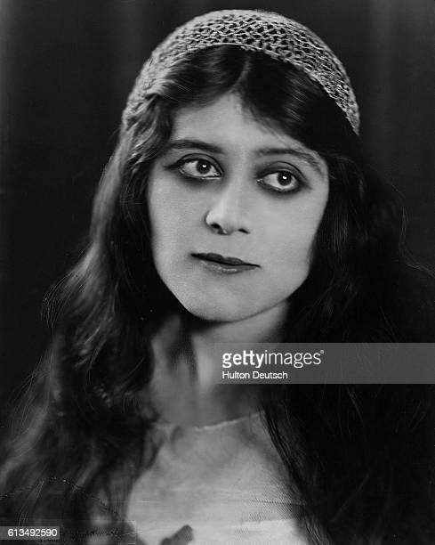 The American actress and sex symbol Theda Bara real name Theodosia Goodman ca 1920