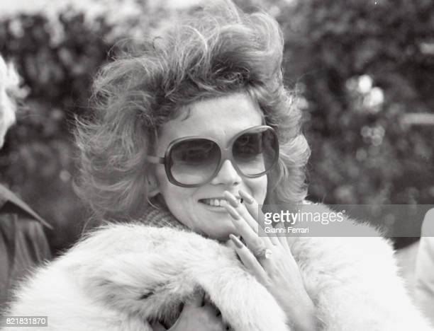 The American actress Ann Margret Madrid Spain