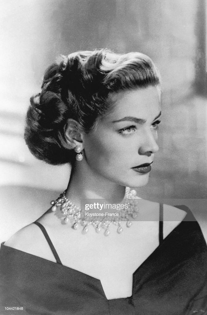 Lauren Bacall In 1949 : Nachrichtenfoto