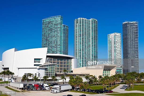 The American Airlines Arena In Miami, Florida