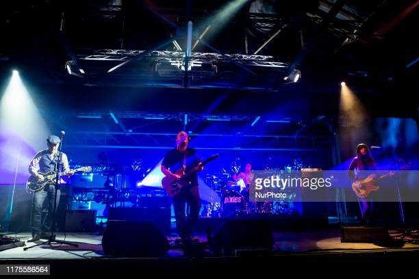 The american alternative rock band Pixies performing live at OGR Turin Italy