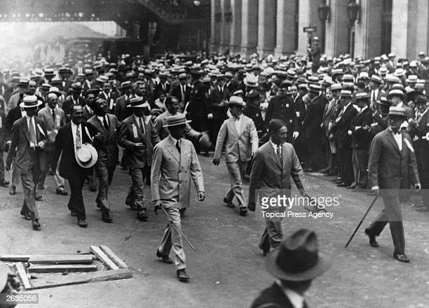 The American amateur golfer Bobby Jones receives a great reception in New York City after winning the British Open Golf Championship Original...
