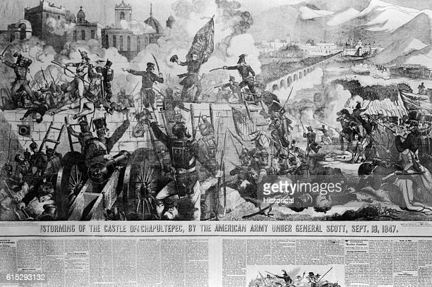 The American Army under the command of General Scott defeated the Mexican army at the Castle of Chapultepec on September 13 1847