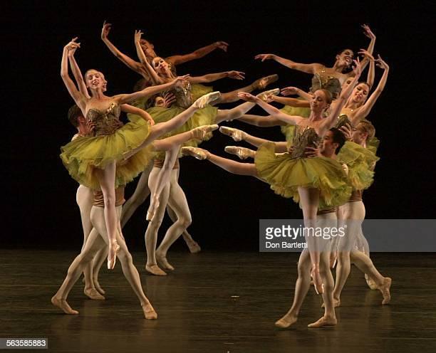 The American Ballet Theatre company performs Bruch Violin Concerto No 1 at the San Diego Civic Theatre 9/14/01