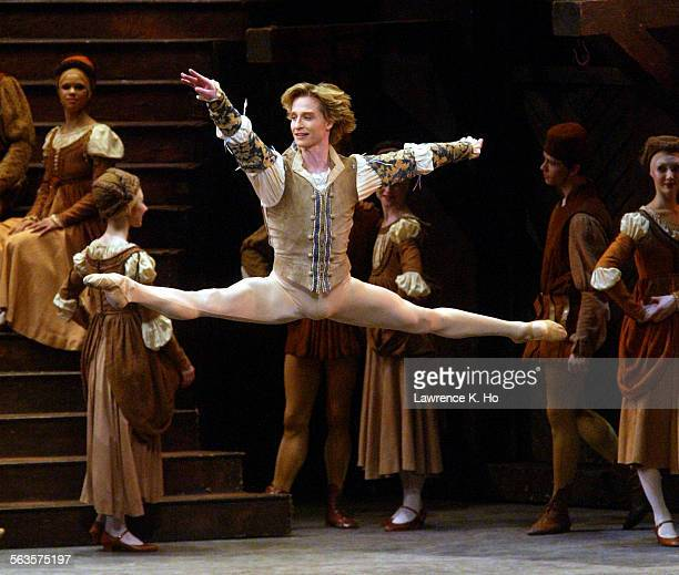 The American Ballet Theatre's Romeo and Juliet performance at the Dorothy Chandler Pavilion with a gala dinner after the performance Pic shows dancer...
