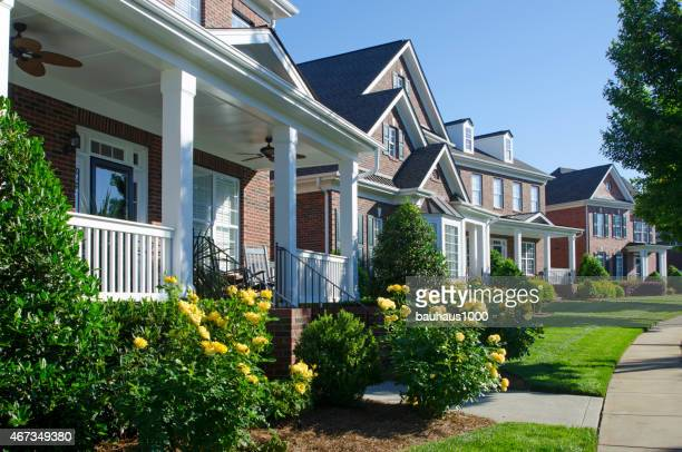 the american dream - residential district stock pictures, royalty-free photos & images
